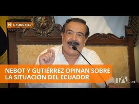Para Nebot y Gutiérrez, Ecuador necesita ayuda internacional - Teleamazonas
