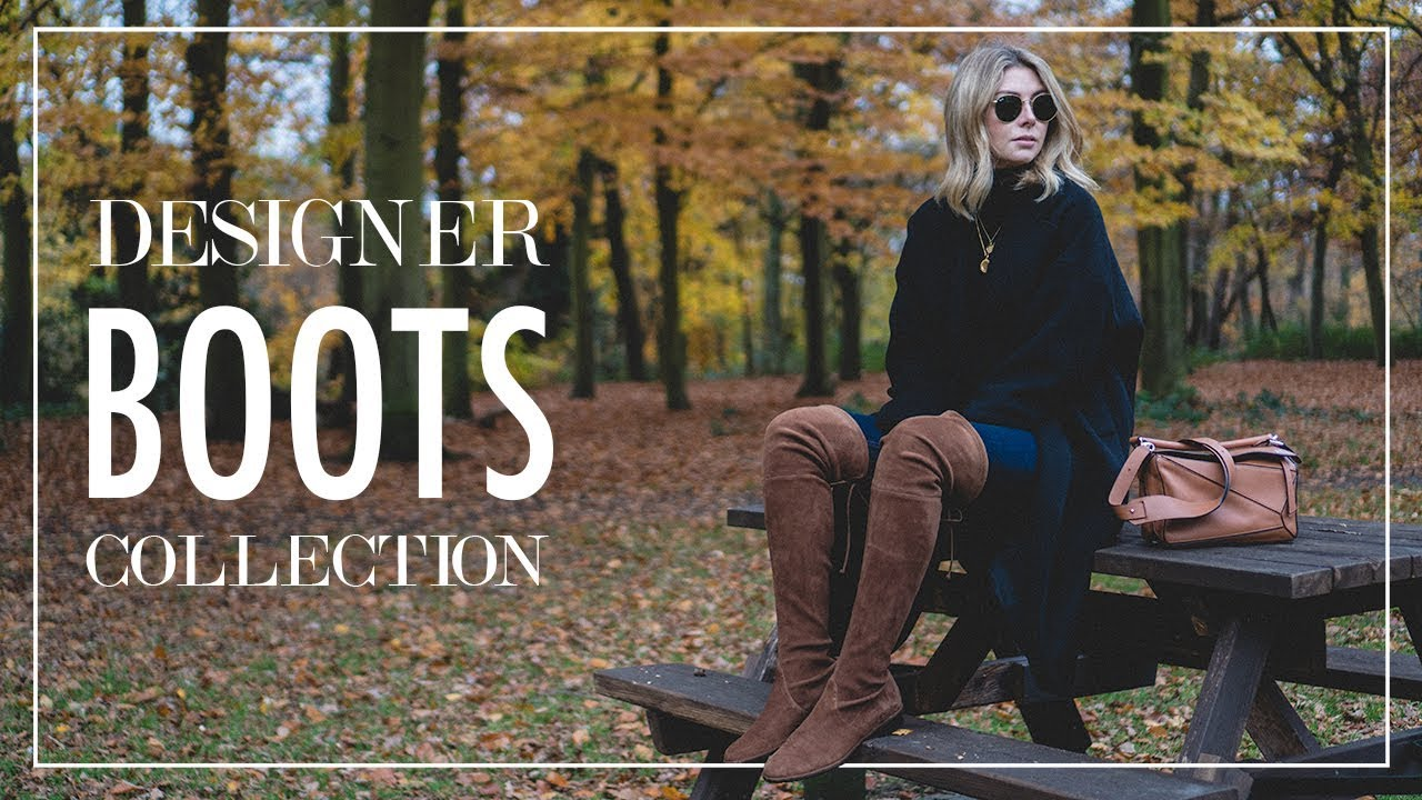 06938b65b Designer Boots Collection & Outfit Ideas For Winter - YouTube