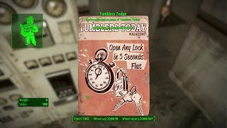 Fallout 4 Ep 278 Tumblers Today Open Any Lock in 5 Seconds Flat West Roxbury Station