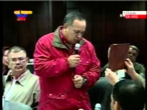 Julio Borges vs Diosdado Cabello en la Asamblea Nacional, 20 enero 2011