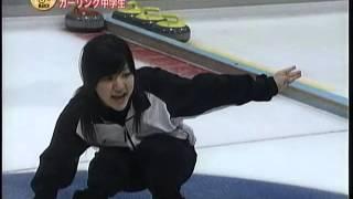 【カーリング】20060318うるぐす・日本代表に勝ったカーリング中学生