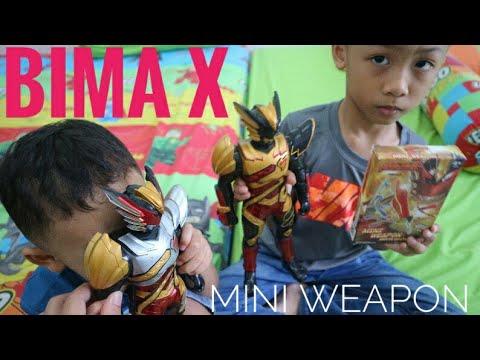 Mini Weapon Bima X DX Action Figure #1 [UNBOXING]