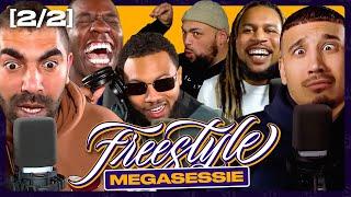 Bokoesam trekt broek uit bij MEGASESSIE PT.2   SUPERGAANDE FREESTYLE ft. Sjaak Saaff Caza & Ginger