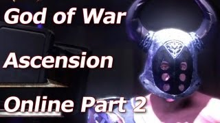 God of War Online: Ascension - Hades Customization Options - Multiplayer Walkthrough Part 2 - HD