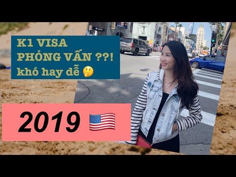LIFE IN USA 🇺🇸 Kinh nghiệm phỏng vấn visa K1 đi Mỹ 2019 😍