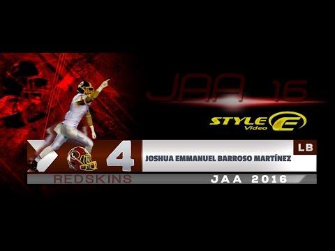 Profile Joshua Emmanuel Barroso Martínez, LB, Redskins, Juv AA 16.