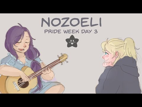 Nozomi X Eli (Love Live Comic Dub) 🏳️🌈 Pride Week Day 3 🏳️🌈