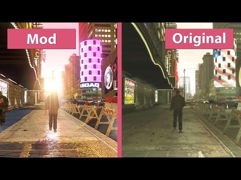 GTA 4 – Maximum Graphics Mod Overhaul For 1.0.7.0 Vs. Original On PC Graphics Comparison [WQHD]