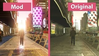 GTA 4 – Maximum Graphics Mod Overhaul for 1.0.7.0 vs. Original on PC Graphics Comparison [WQHD]