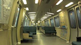 San Francisco BART Train Journey