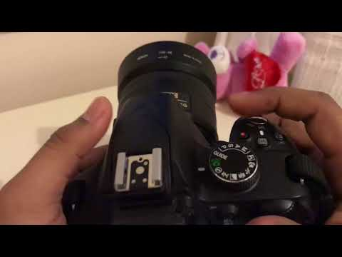 How to enable or disable flash in Nikon DSLR