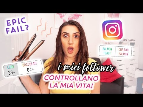 INSTAGRAM CONTROLLA LA MIA VITA PER UN GIORNO! EPIC FAIL | The Lady