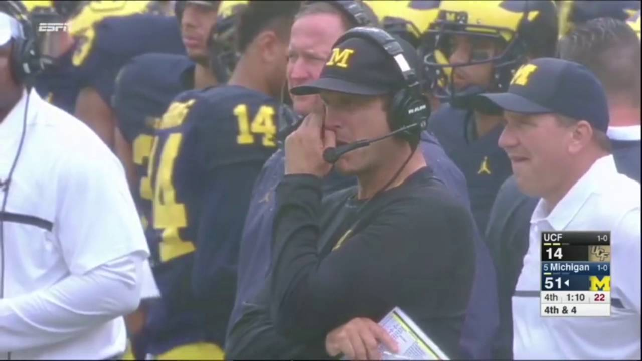 Harbaugh Booger Gif