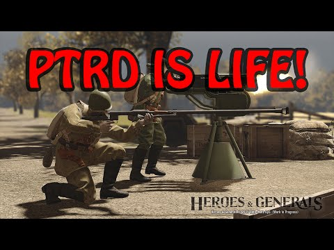 PTRD Life - Heroes and Generals