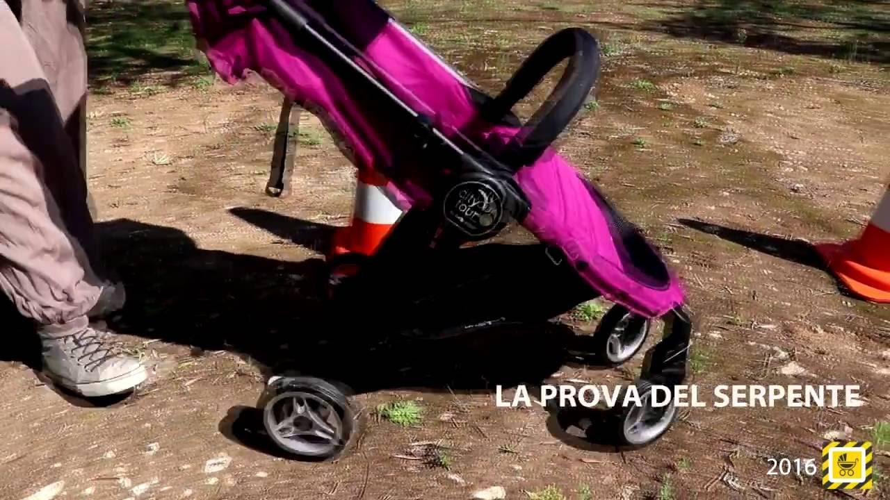 Baby Jogger City Tour prova su strada - YouTube