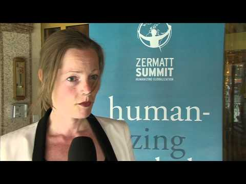 Suleika Reiners, World Future Council - Exclusive interview at Zermatt Summit 2012