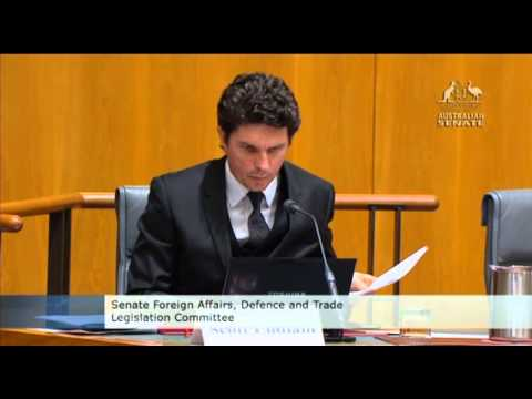 Senator Ludlam asks Minister Carr about Wikileaks and Bradley Manning's trial