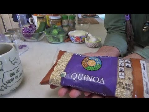 ASMR Free Spirit Fast Food ~ Quinoa For Lunch! 🍛