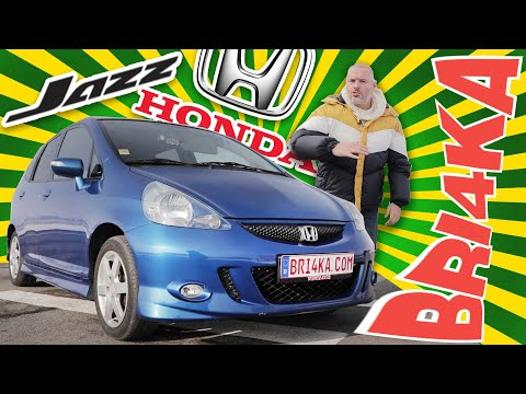 Honda Jazz 1 GEN| Test and Review| Bri4ka.com