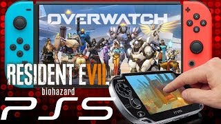 Massive News: RE7 Switch Unplayable   Overwatch 2 & Switch   PS5 Release Date & New Portable Console