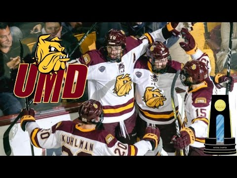 UMD Bulldogs Frozen Four Hype 2017