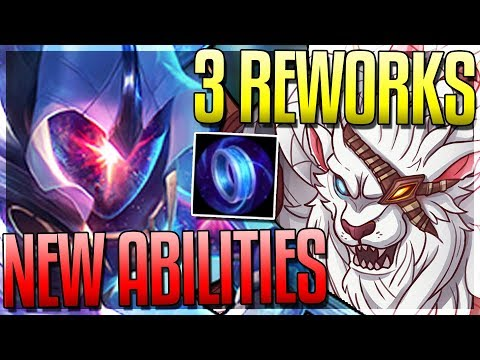 RENGAR & MASTER YI REWORK! Manaflow NEW Effect - New 8.3 Changes - League of Legends