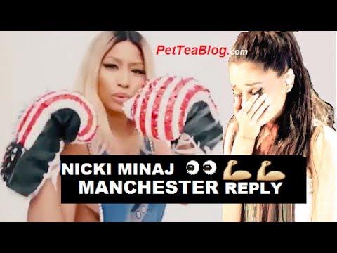 Nicki Minaj not AFRAID no more Reacts to Ariana Grande Manchester Concert ❌😱👎💪
