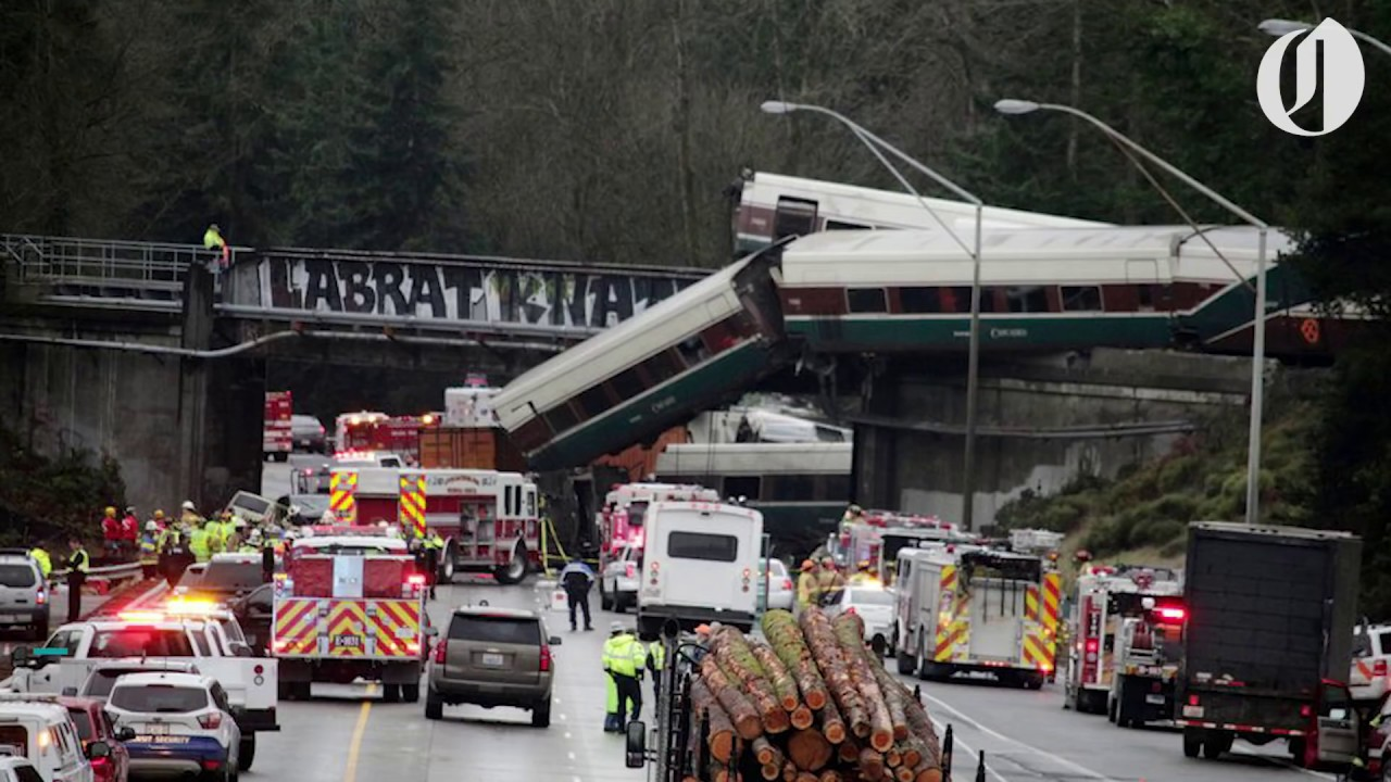 Portland Bound Amtrak Train Derails In Washington At