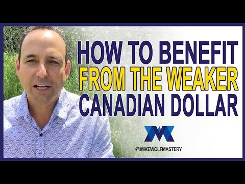 How to benefit from the weaker Canadian dollar by investing in U.S. real estate