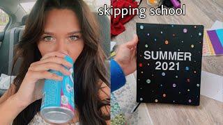 I skipped school.. *thrifting + making summer bucket list*