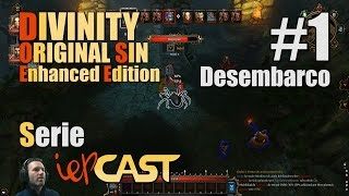 DIVINITY Original Sin Enhanced Edition - Español - Gameplay - #1 - Desembarco