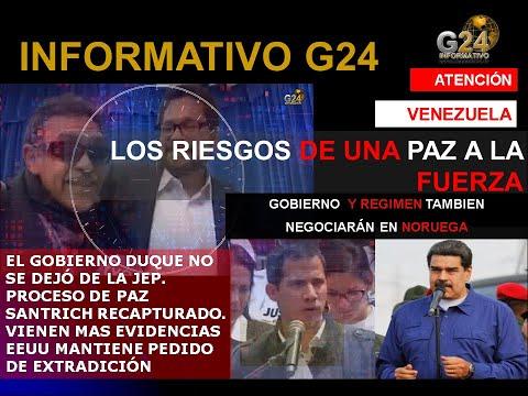 G24- A NORUEGA? RIESGOS DE UNA PAZ A LA FUERZA/COLOMBIA JEP