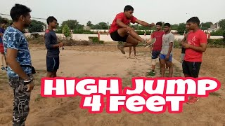 High jump kaise kare SI Bihar Police / Viru Fouji Defence Academy
