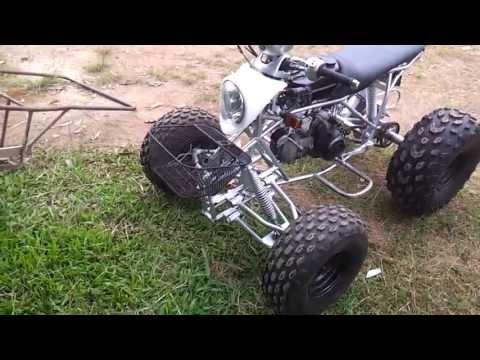 ทดสอบรถ ATV ไทยประดิษฐ์ @ เขาค้อ (ATV invention, Thailand.)