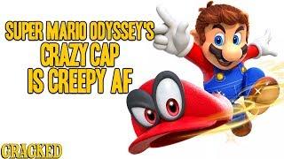 Super Mario Odyssey's Crazy Cap is Creepy AF