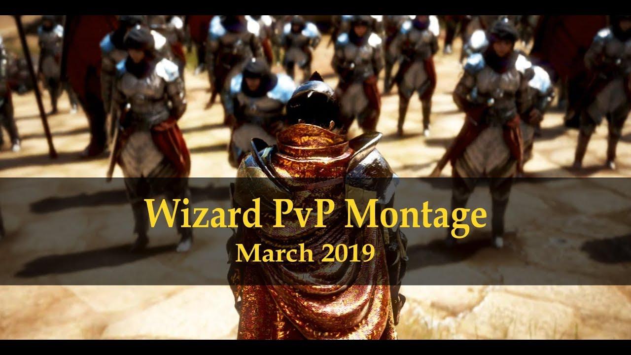 BDO Wizard PvP montage - March 2019 Part 2