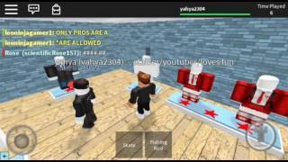 Playing roblox/trolling and exploring
