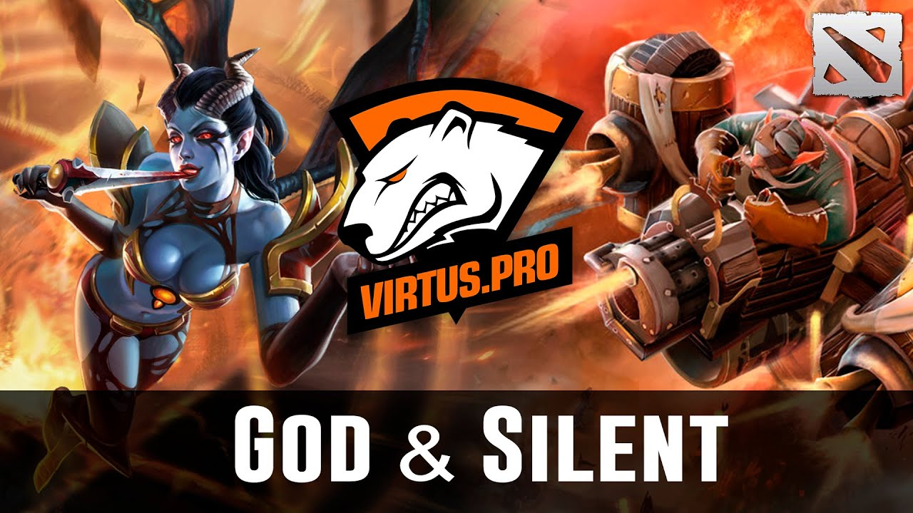 God & Silent vs Na'Vi Starladder Dota 2