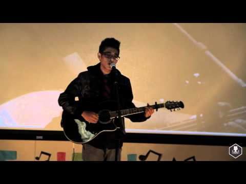 Albert Posis performing @ UCR VSA's Viet Idol 2011