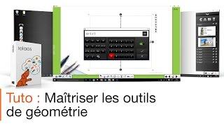Tutoriel écran interactif : les outils de géométrie avec le logiciel pour écran interactif Iolaos