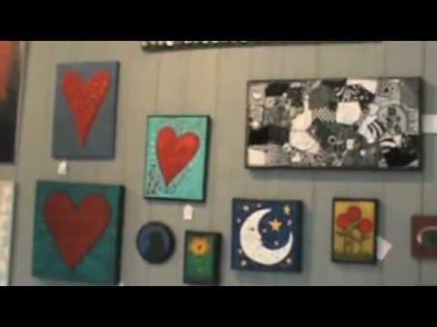 PJ Hornberger Folkart Store/gallery 2012