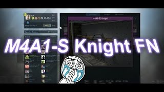 How to: Trade Up Contract M4A1-S Knight Factory New for 15$