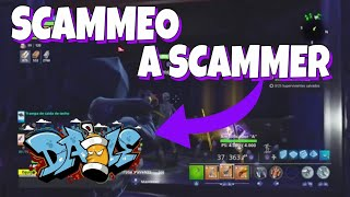 🇪🇸🎨SCAMEO to the SCAMMER GRAFITERO MOST TONTO OF SPAIN🤦 ♂ Fortnite Save the World
