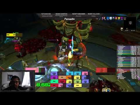 Battle For Azeroth Beta Heroic Taloc Kill | Uldir Raid | Holy Paladin PoV