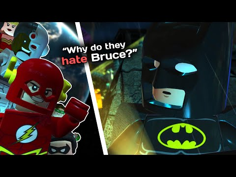 Why Does The Justice League HATE Lego Batman? |