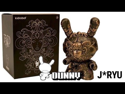 """Kidrobot """"It's a F.A.D."""" 8 inch Dunny by Jesse Yu (J*RYU) Review"""