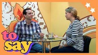 Alison y Kyle hablan usando el verbo TO SAY   Nivel Medio