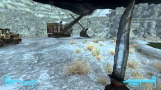 Лучшее оружие Fallout New Vegas - №2 Нож Боуи