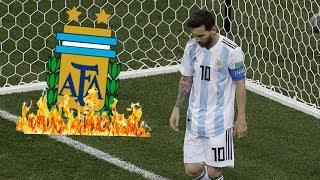 Warum Messi so unfassbar schlecht spielt.. (Bei der WM)