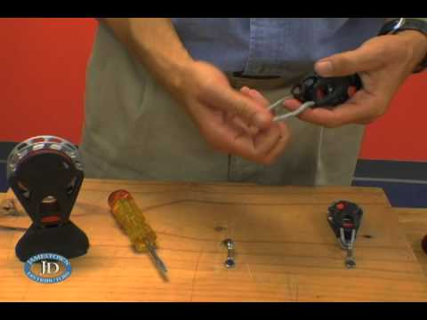Ronstan Ball Bearing Orbit Blocks